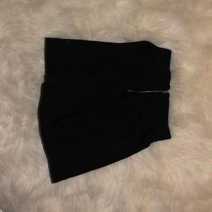 Skirts - black skater skirt